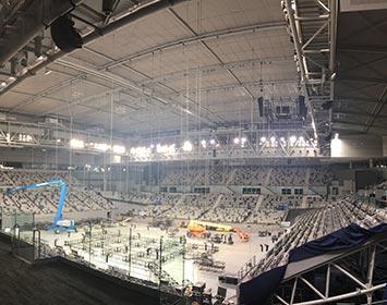 Hisense Arena Lighting Upgrade